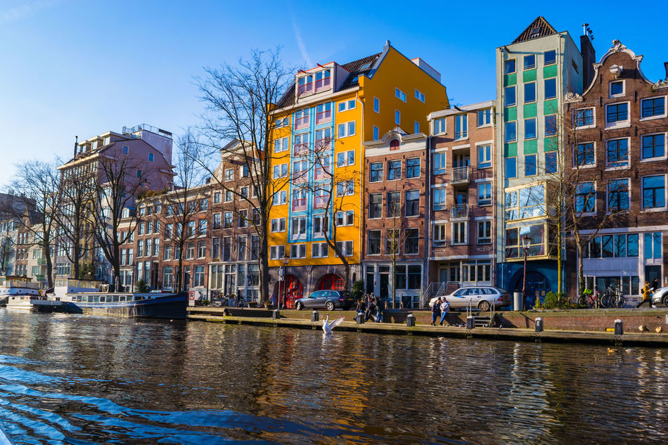 Amsterdam 2017 Amsterdam Amsterdam Canal Amsterdam Centraal Amsterdam.nl Boats And Water Boats⛵️ Bridge - Man Made Structure Canal Walks Canals And Waterways Europe Trip