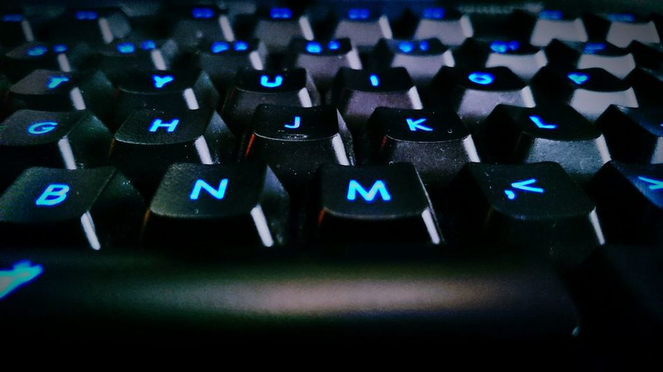Gaming Gamingcomputer Game Gamer Keyboard Buttons LED Blue Gamingkeyboard Hobby Passion Competition Counter_Strike Csgo Counter-strike League Of Legends Fifa Starcraft Starcraft2