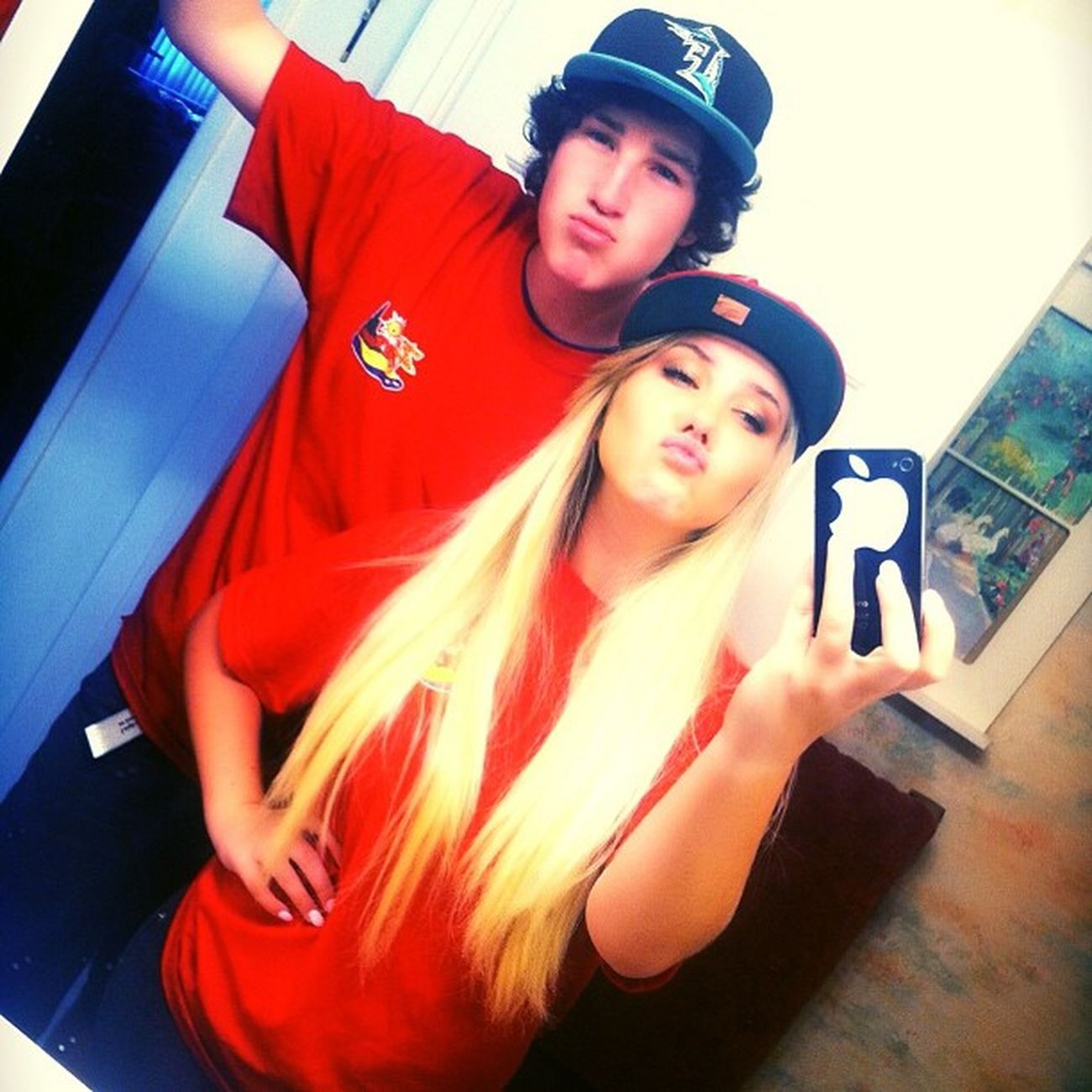 Me & my lil bro on our way to work. ? Pimpin Snapbacks Duckface Wecoollikethat brothersisterlove @cracker101