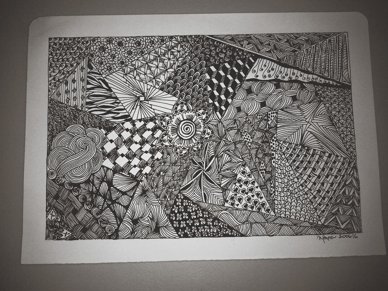 Draw Drawing Zentangle Zentangleart Patterns Black And White Black And White Collection  Creativity Art, Drawing, Creativity Being Inspired Inspired Eyeem Art Taking Photos