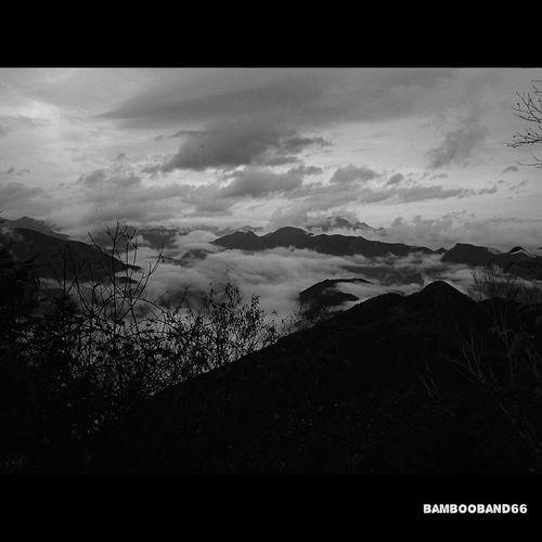 あいにくの天気でもこんな雲海観れると気分も上がるよね?(*≧∀≦*) Enjoying Life Mountain Climbing Mountain View Good Memory