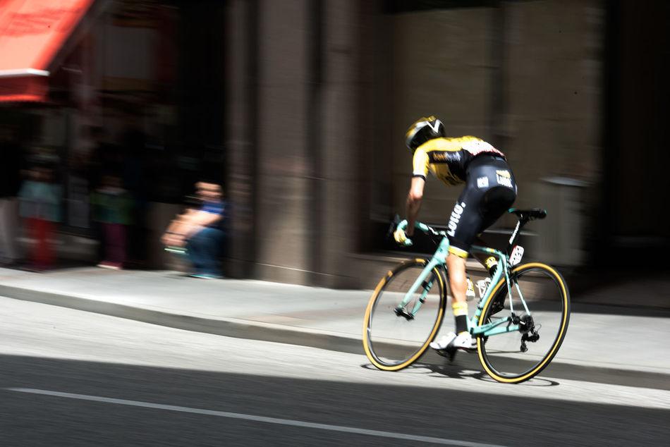 Bikers Lavueltaaespana Race Speed