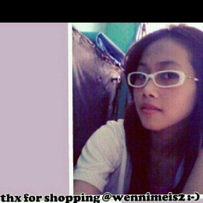 Thx for shopping again tj-miuframe white gold @wennimeis2 {}:-) Kacamata Kacamatamurah