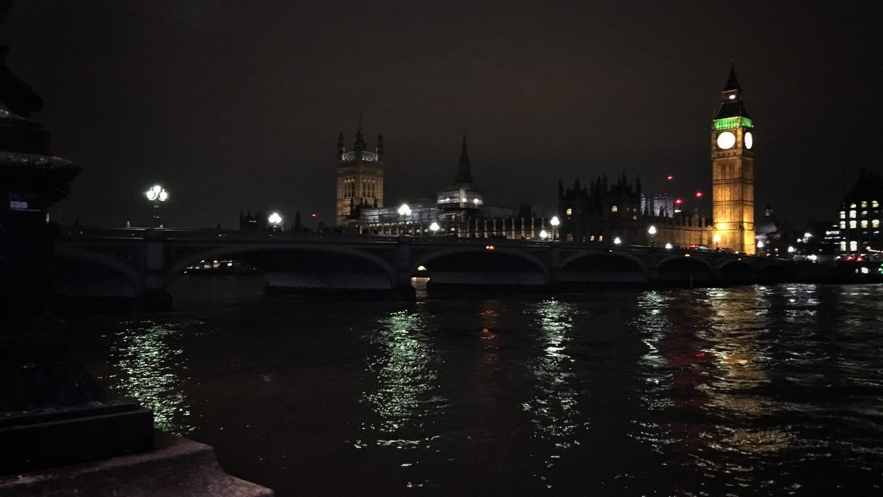 Big Ben & Houses of Parliament °1... Big Ben Houses Of Parliament Architecture Old Buildings Historical Building Bridge Bridge - Man Made Structure Westminster Bridge London LONDON❤ Nightshot Nightphotography Illumination United Kingdom Travel Destinations Built Structure City Night Illuminated IMography IPhone SE