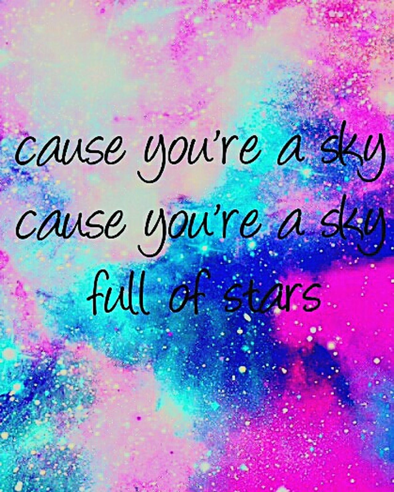 Coldplay Askyfullofstars Askyfullofthestars Coldplay💞