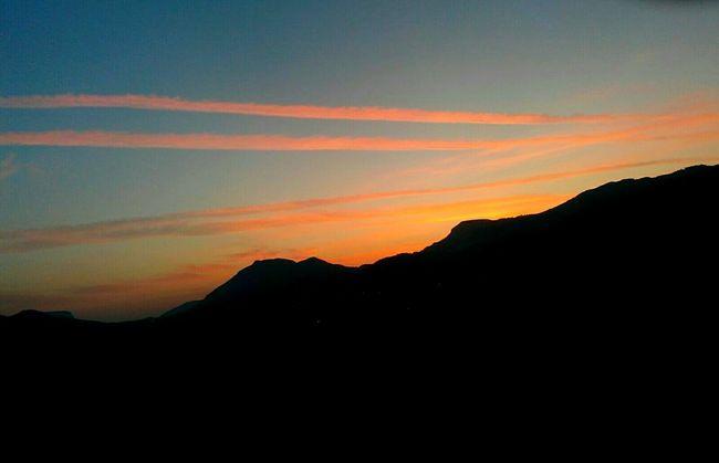 Yeşilovacık Hello World Sunrise Clouds Morning View