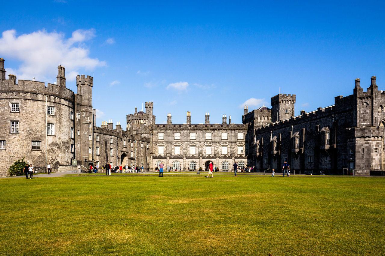 Architecture Built Structure History Irleand Kilkenny Kilkenny Castle Sky The Past Tourism Travel Destinations