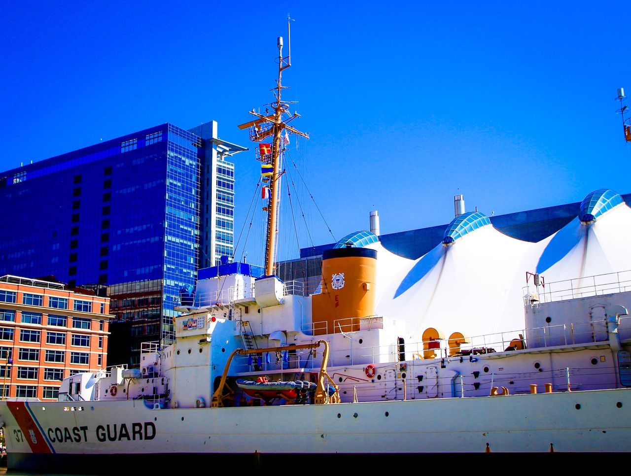 Coast Guard in Baltimore