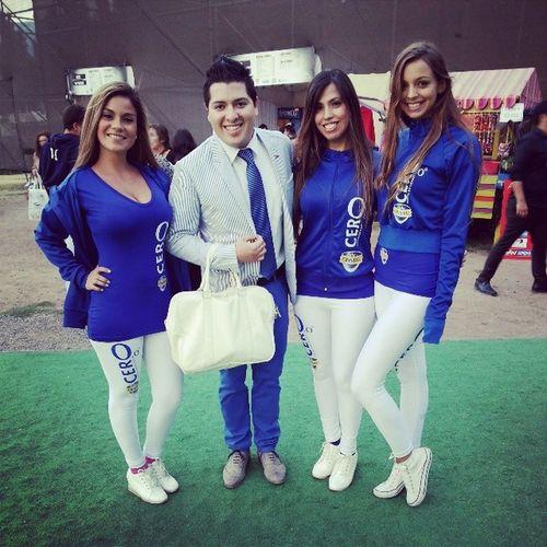 CristalCero Blue Azul ArenaMonticello listos para ver a @anagabrieloficial