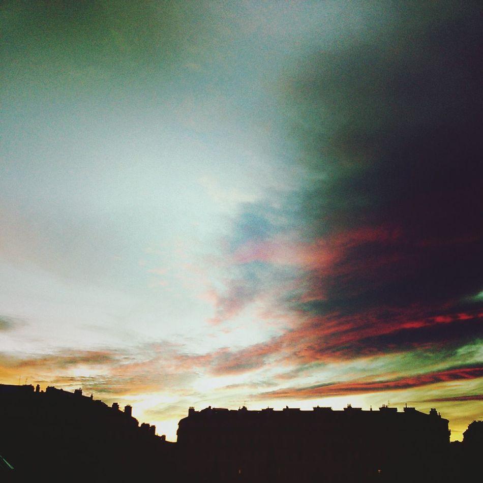 Pink. Sky Clouds Pink Pornsky