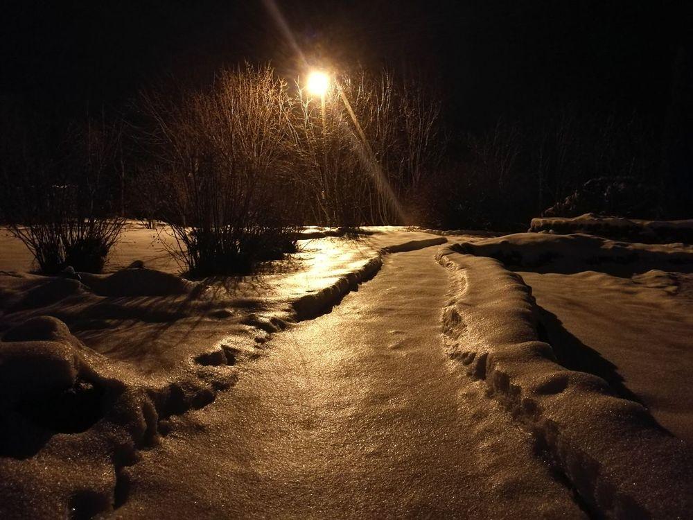 No People Illuminated Night Outdoors