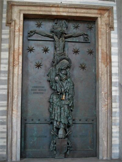 Roma Atiqua Close-up Day Holy Door Lateran Basilica Door Laterano No People Outdoors Puerta Santa