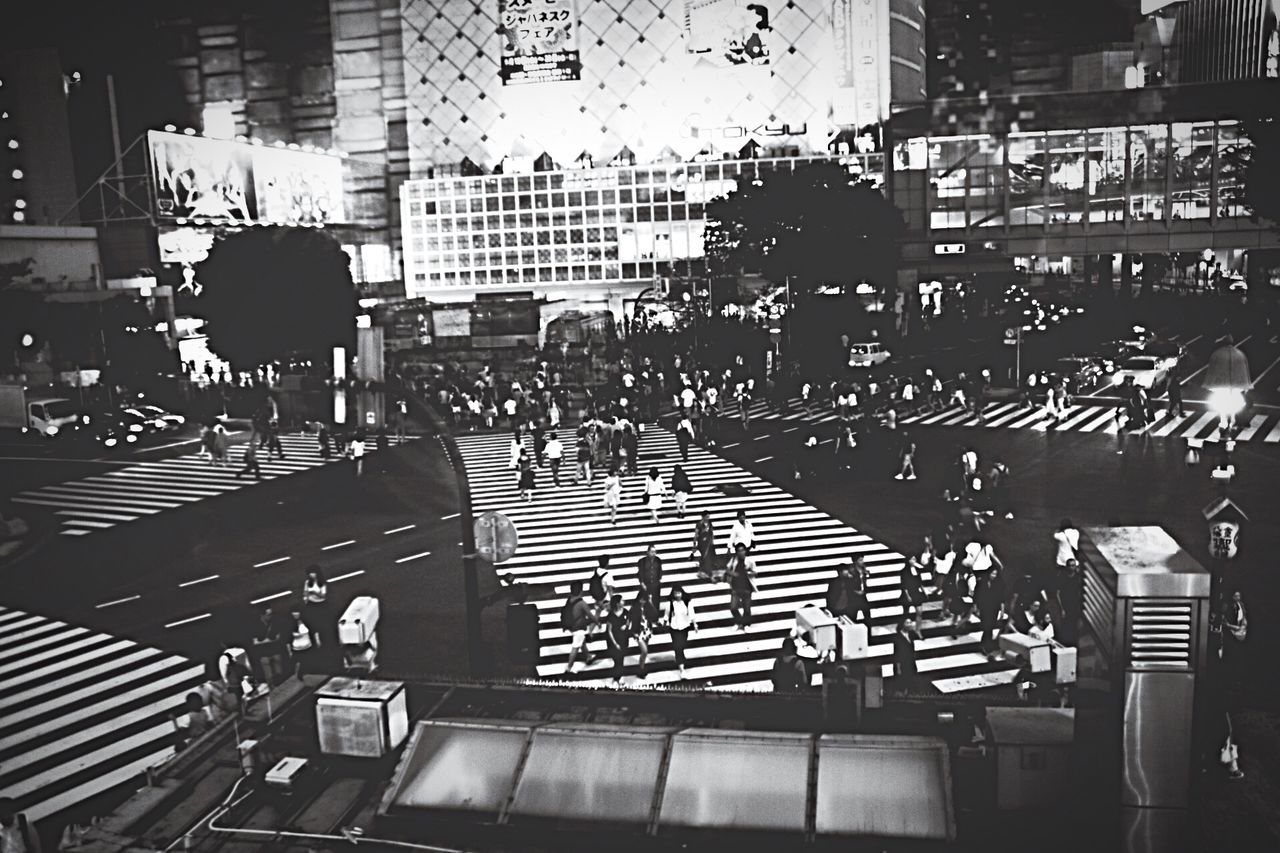 Monochrome Highlights From Aerial Shot Everybodystreet EyeEm Best Shots - Black + White Shibuya People Watching Night View Going The Distance Cityscapes Japan Cities At Night Urban Exploration Street Photography Feel The Journey Original Experiences Japan Lovers People Learn & Shoot: After Dark Everybody Street Ultimate Japan B&w Street Photography Bnw Landscapes Shibuyacrossing Light And Shadow