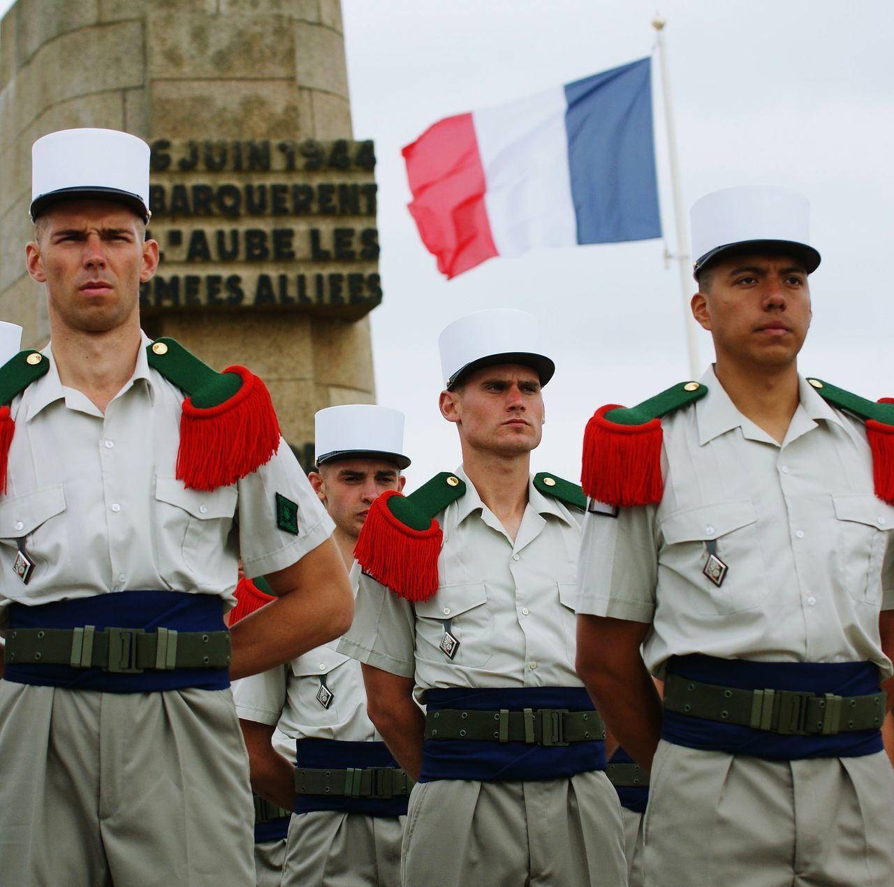 Legionétrangère Armée De Terre Armée Française French Flag Legion étranger