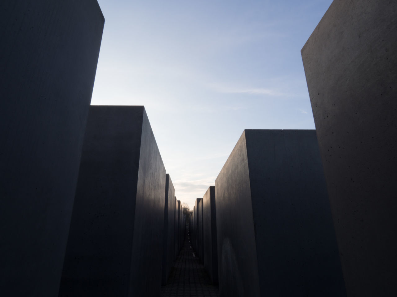 Architecture Berlin Built Structure Day Low Angle View Memorial No People Outdoors Sky Stelenfeld Travel Destinations EyeEmNewHere