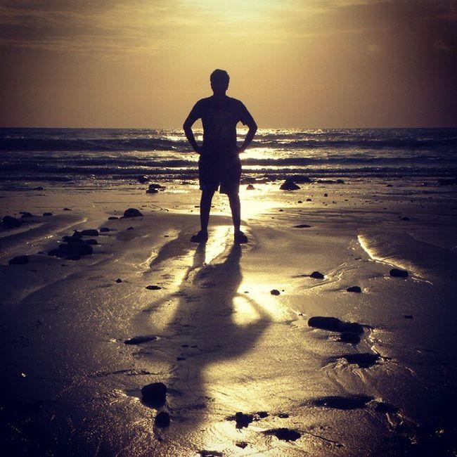 Rise Up..... GoldenSunrise Andamanislands Blackandgold Shadow Beach Beach Photography