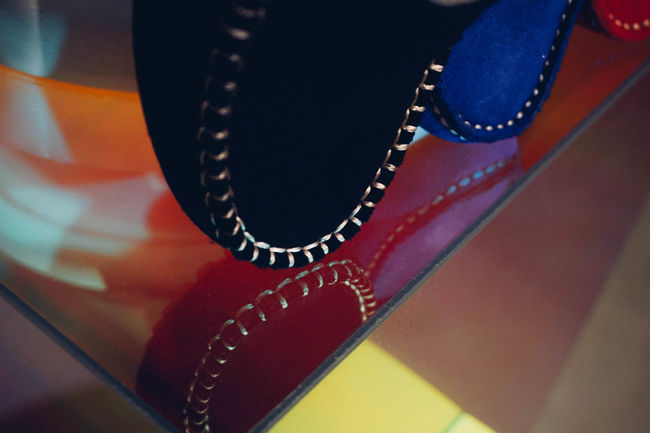 Loafers Close-up Colours Design Detail Fashion Loafers No People Parisian Reflection