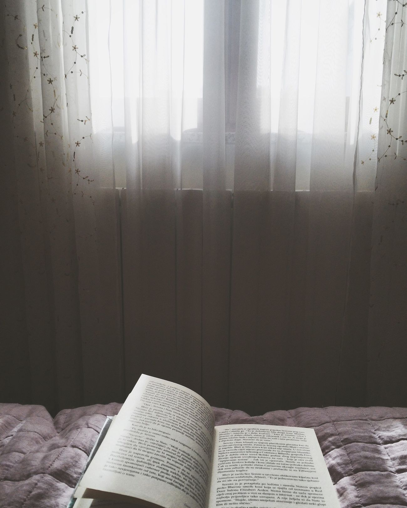 Bed Bedroom Love Reading Books ♥ Another World Thoughts Sunny Free Time My Room View