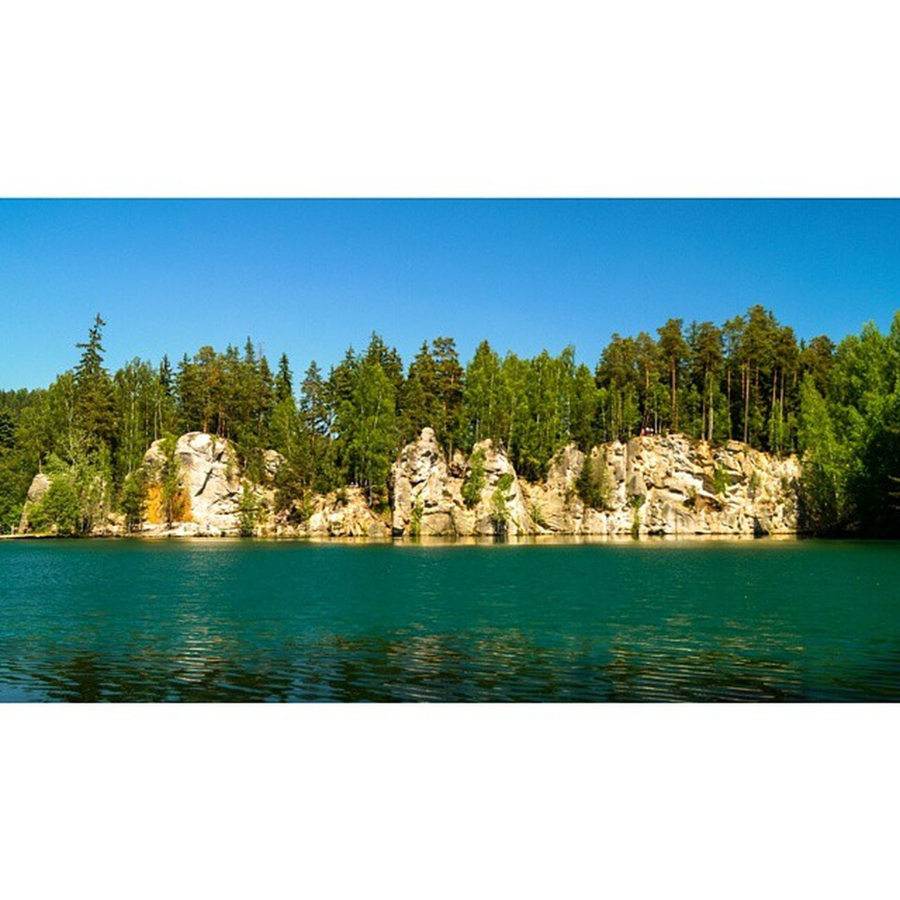 Love it!❤❤❤ Teplicenadmetuji Adršpach Skały Rocks Skalne Miasto Czech Republic Czechy Nature Lake Landscape Beautiful Day Weather Sunny Trip Travel With Lovely Boyfriend Mountains Weekend Free Time piękniewidokifantasticviewholidaylikeforlike