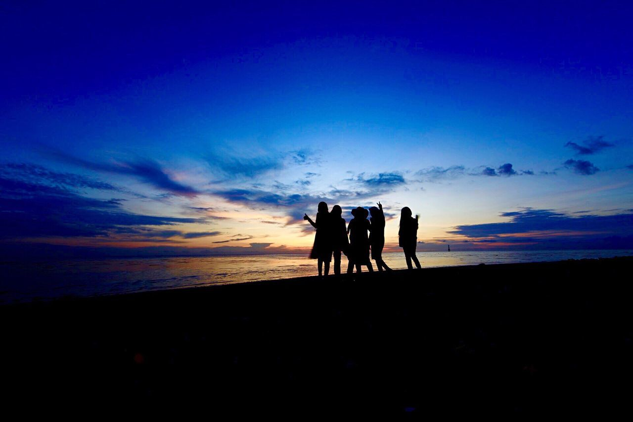 Beautiful stock photos of sunset, Beach, Beauty In Nature, Cloud - Sky, Dusk
