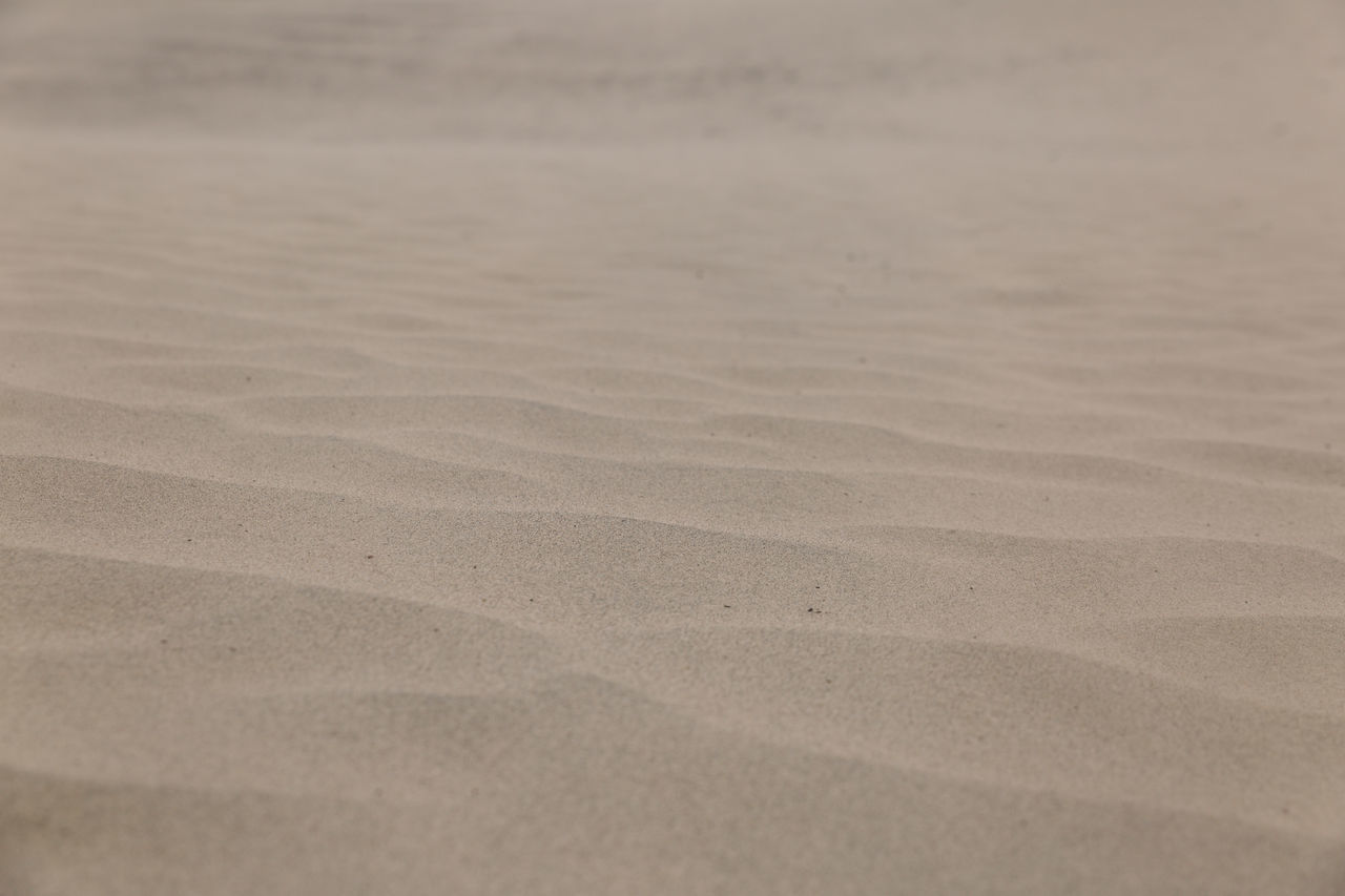 sand, beach, nature, day, no people, tranquility, backgrounds, sand dune, outdoors, arid climate, beauty in nature, close-up, water, salt - mineral
