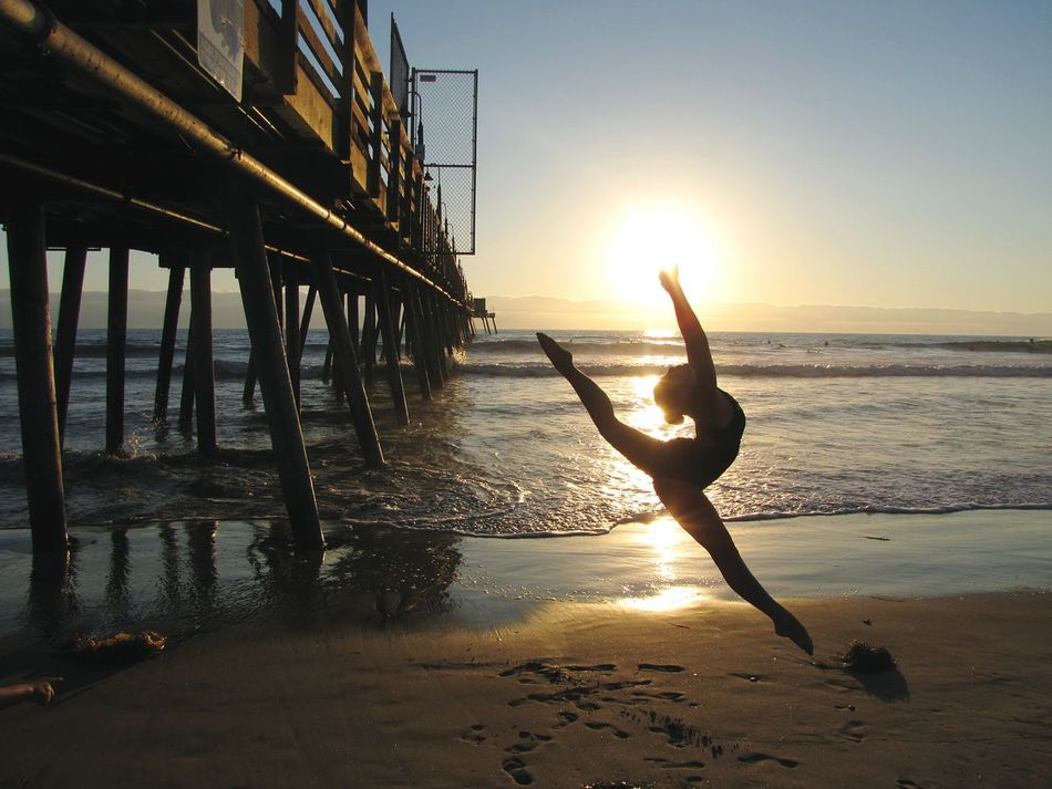 Dance Beach Dancers Ocean Dancing Dance Photography Different Perspective Nature Photography Enjoying Life Check This Out Another Point Of View Eyeemphoto California Imperial Beach Reflection Beach