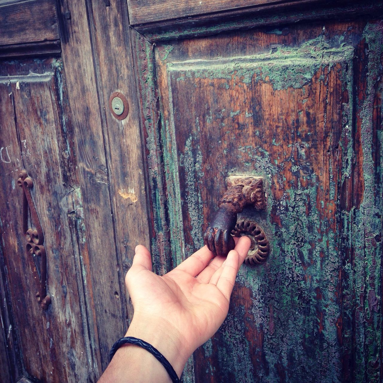 Door 🚪 tTraditional Hands Architecture Beauty Light Colors