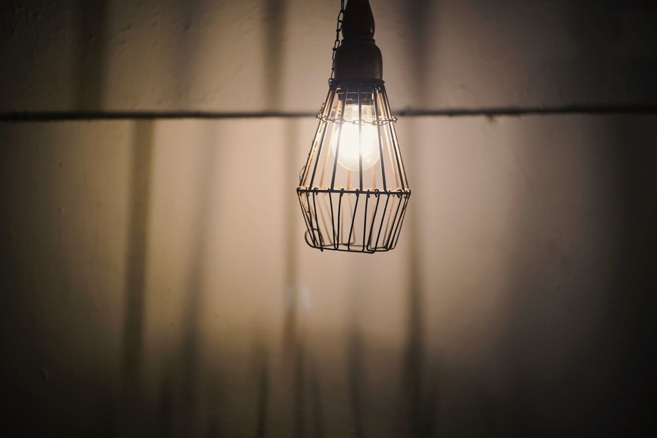 Lighting Equipment Low Angle View No People Illuminated Hanging Close-up Indoors  Light Bulb Nature Day