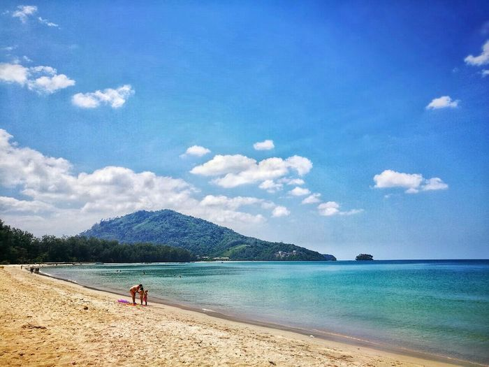 Water Sky Beach Sea Sand Nature Beauty In Nature Travel Destinations Thailand Phuket Eye4photography  EyeEm Gallery EyeEm Best Shots - Landscape HuaweiP9Photography Huawei P9 Plus NaiyangBeach