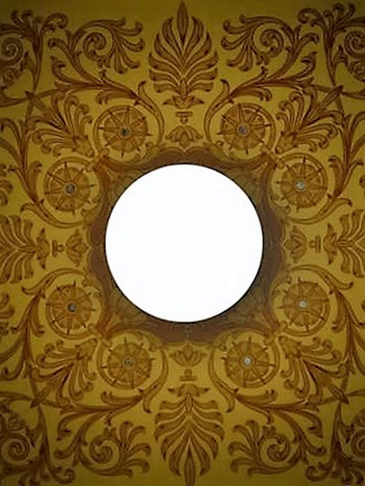 Architectural Feature Architectural Detail Designs Courthouse Ceiling Pattern Design Abstract Fort Wayne Indiana Downtown Light And Shadow Light Bulb Centered Centerpoint Center Focus