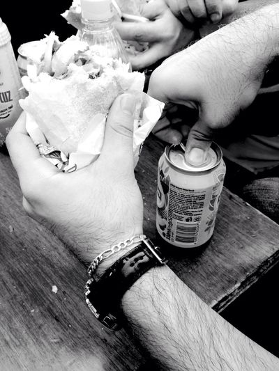 Ekmekarasi Sandwiches Sandwich Time Fried Fish Barbecue Salad Ice Tea
