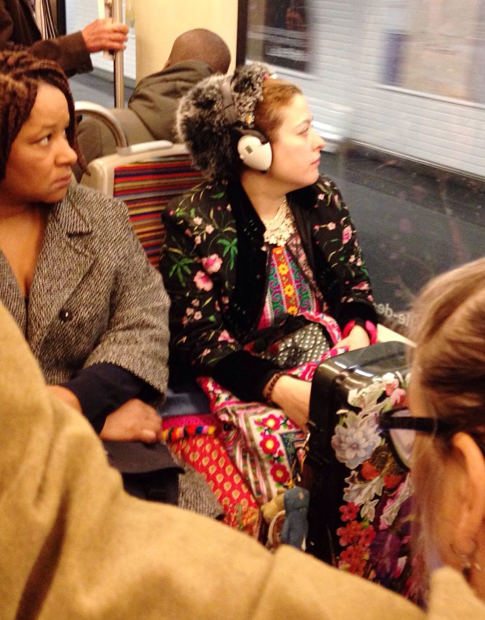 Russia today !!! People Watching in Public Transportation Subway Metro City Life
