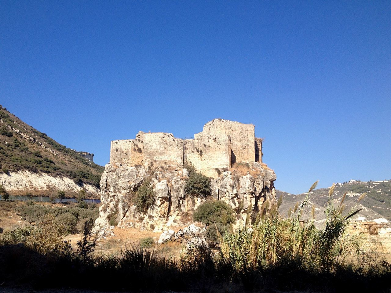 Lebanon Old Buildings Old Construction Fort Castle North Lebanon MsaylhaCastle East Mediterranean 16th Century