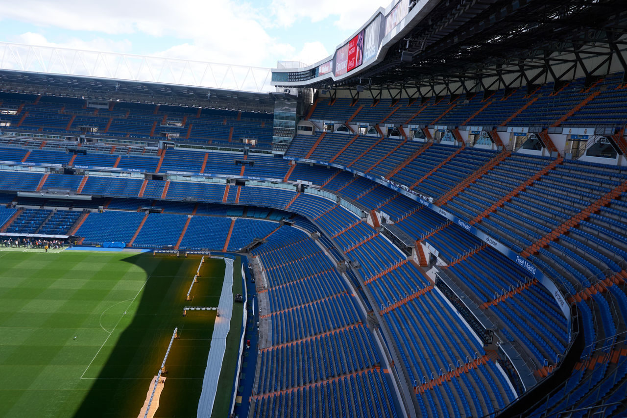 day, sport, architecture, outdoors, stadium, no people, sky