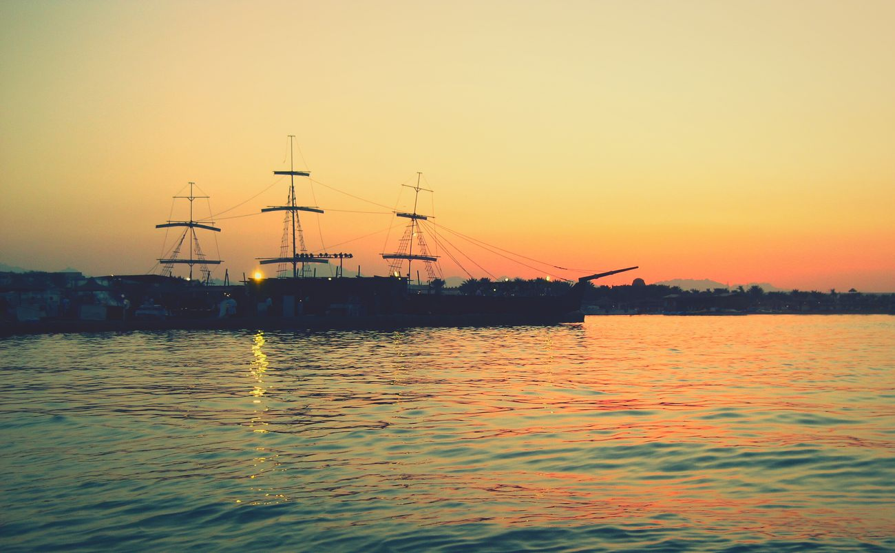 корабль корабли отдых египет Красное море RedSea Makadi_bay Egypt Makadi Makadibay закат у моря Закат