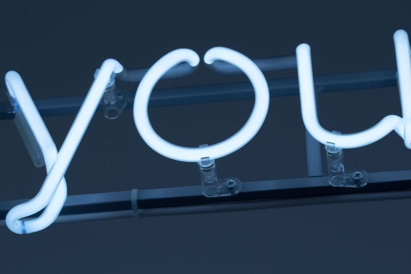 Art Art Installation Blue Neon Neon Lights Neon Sign Urban You Conceptual Photography  Modern Bright Light Neon Color Neon Effect Word You Illuminated Text Pronoun 3D Letters Art SignSignEverywhereASign Sign Electric Light Fresh On Eyeem  Neon Life