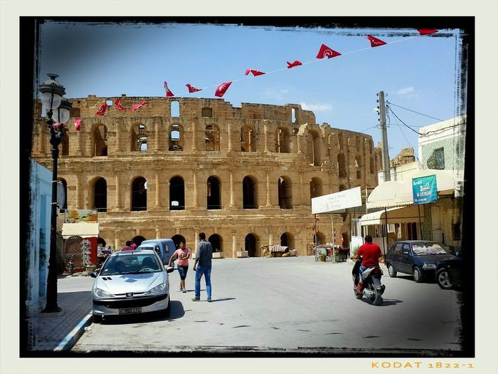 El Jem Coliseum El Jem Tunisia Streetphotography