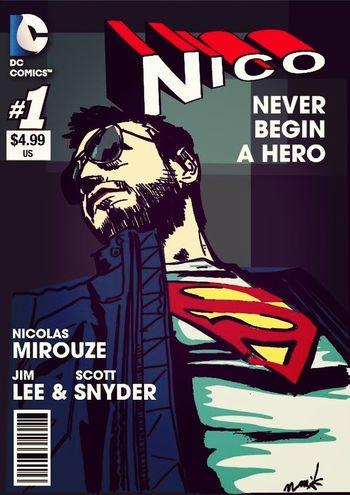 Nico DC ComicsDrawing