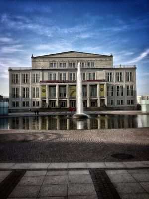 Architecture at Augustusplatz by MrHuGoBanAnI