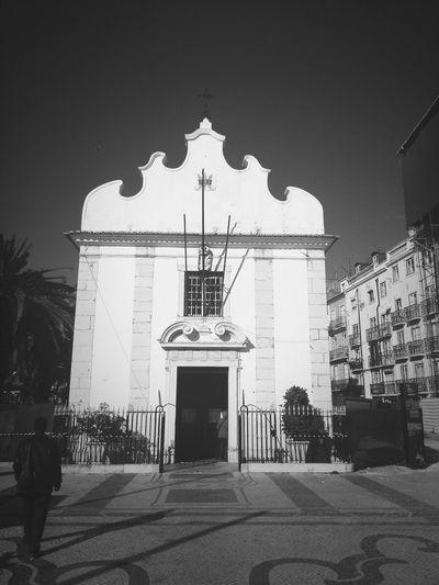 Walking Around Monochrome Black & White Lisbon
