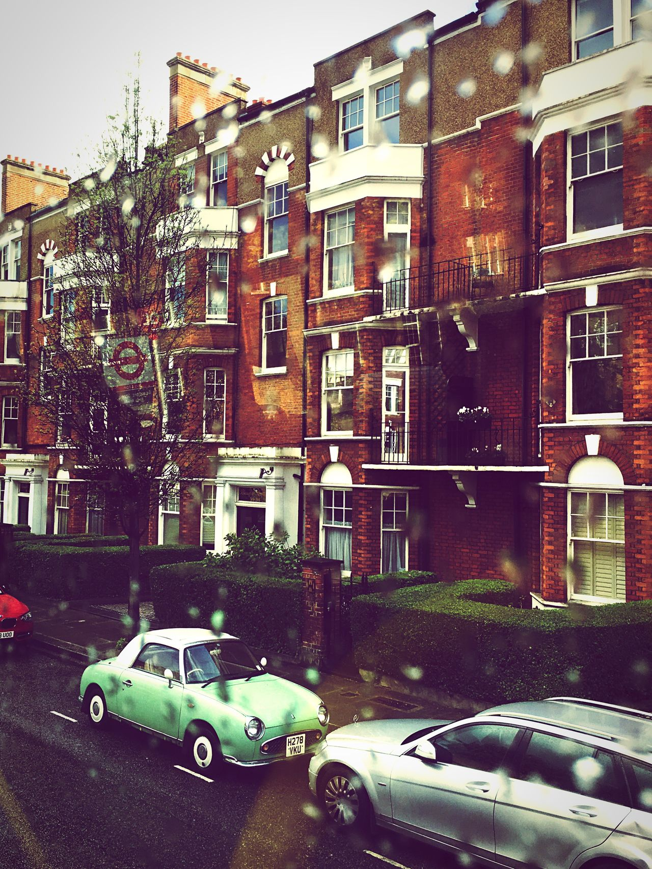 London Chelsea Car Building Exterior Architecture City No People Day Rain