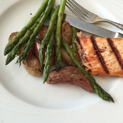 Nothing like some grilled salmon . Food Porn SVJPhotography Pennsylvania