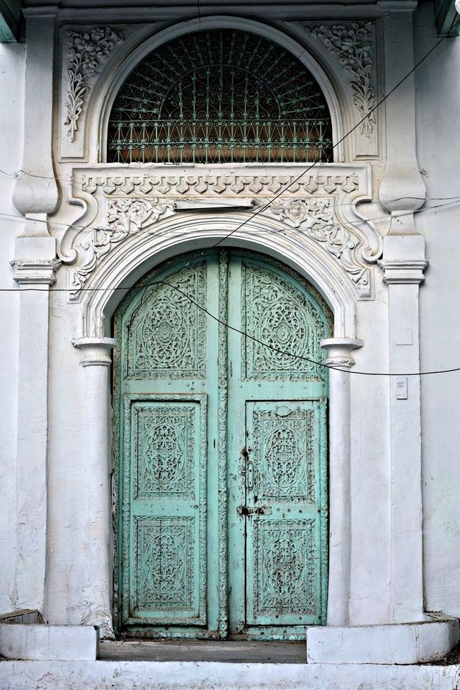 Old Door Cutural Arts Historical District Of Jeddah Saudi Arabia
