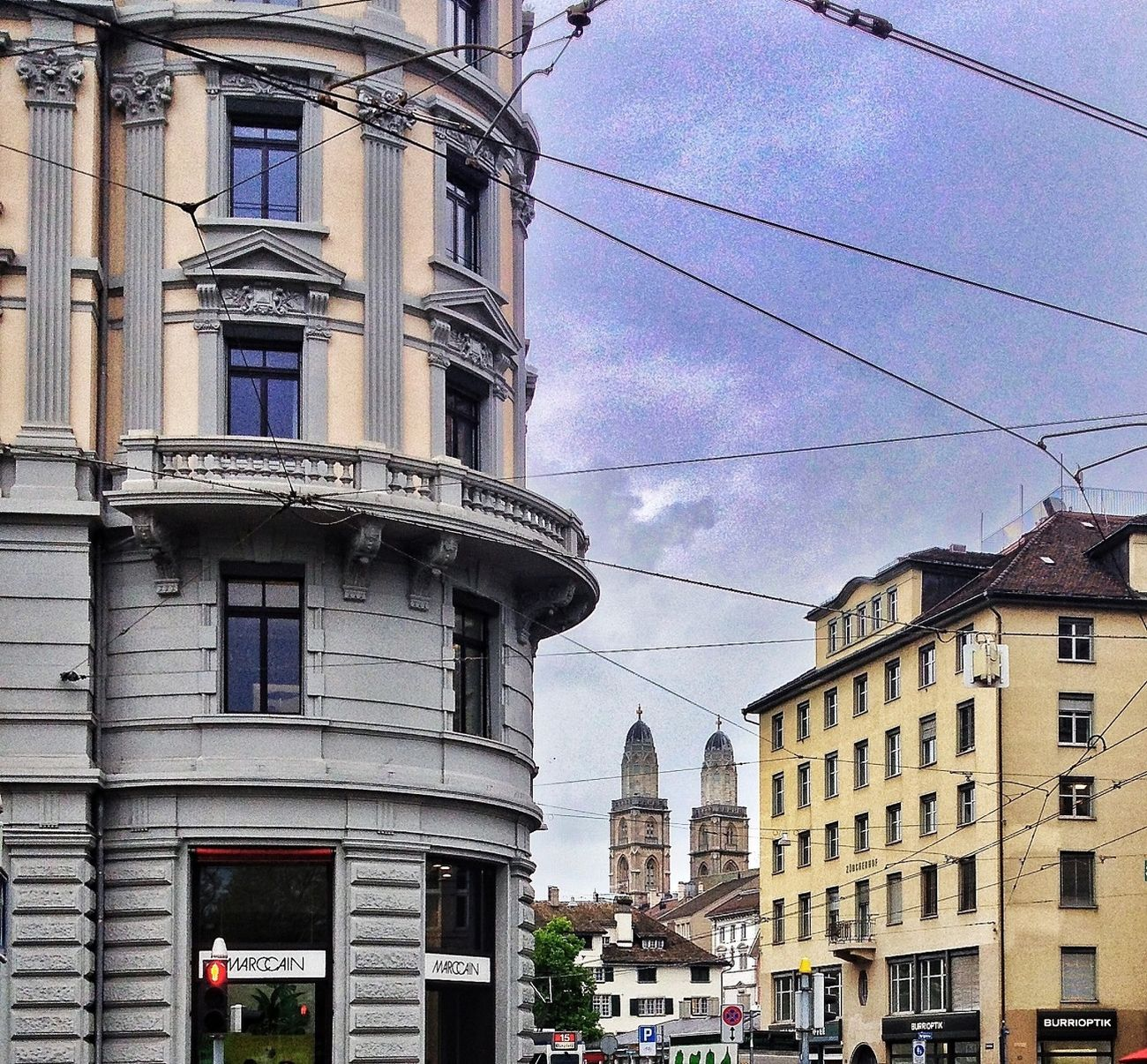 City Clouds And Sky Zürich Switzerland