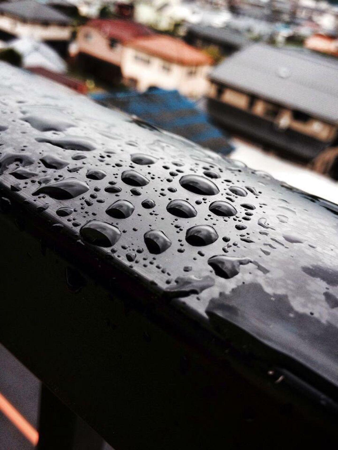 13th floor . Grey Cloudy Raindrops Rainy Days Rain Tears Raindropshot Eyeem Philippines