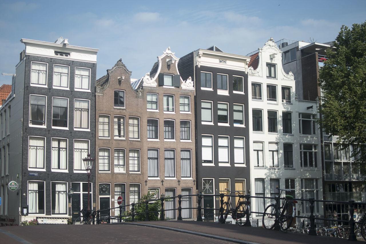Beautiful stock photos of amsterdam, Amsterdam, Apartment, Architecture, Building Exterior