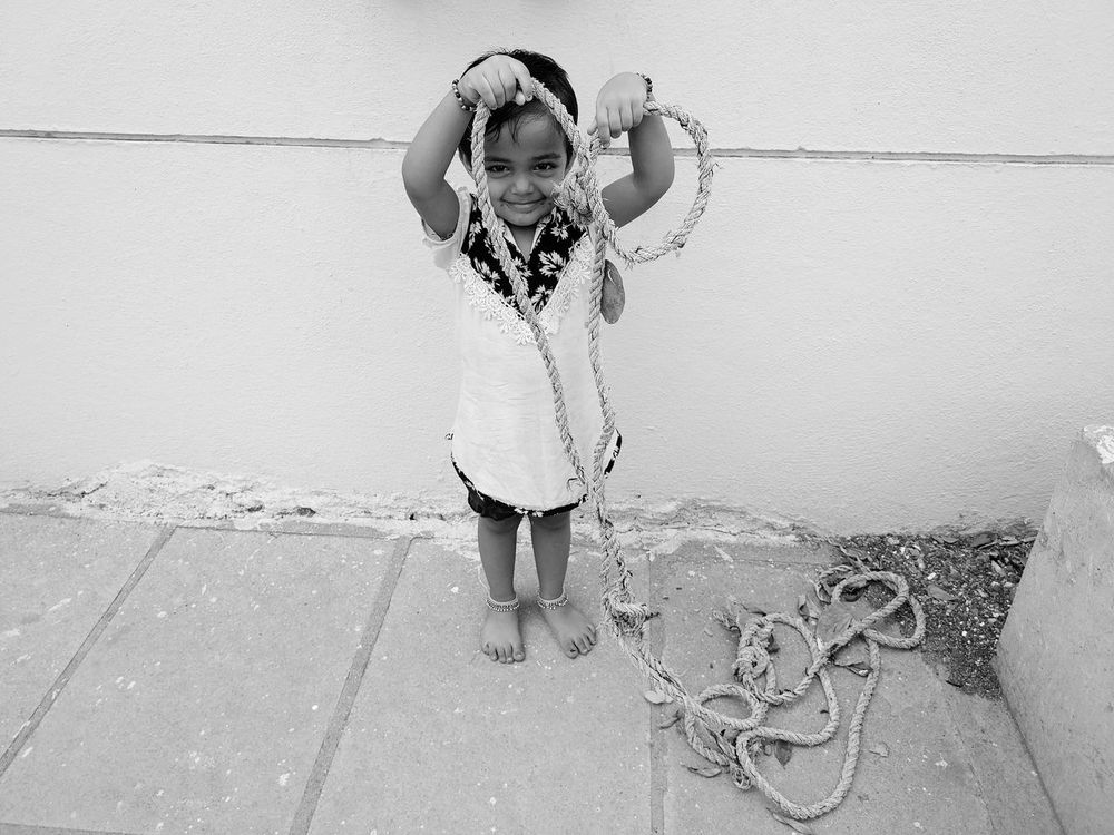 One Person Childhood Children Only Outdoors People Lifestyles Child Real People Girls Standing One Girl Only Funny Moments Cuteeee♥♡♥ Looking At Camera Smatrphonephotography Mi5S Standing Rope Modelling Playing EyeEm Gallery Funny Monochrome Photograhy Black And White Portrait Cuteness_Overload Happiness♥ BYOPaper! The Photojournalist - 2017 EyeEm Awards EyeEmNewHere