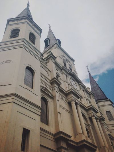 Jackson Square New Orleans Louisiana St. Louis Cathedral