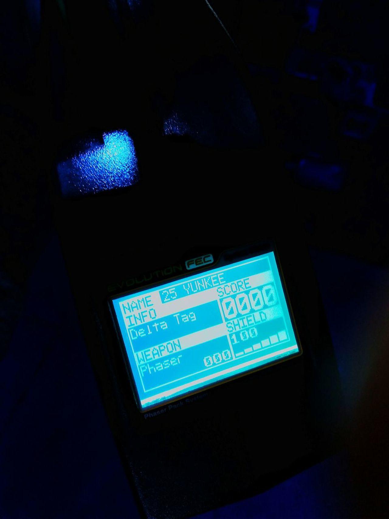 Technology Illuminated Night Lasertag