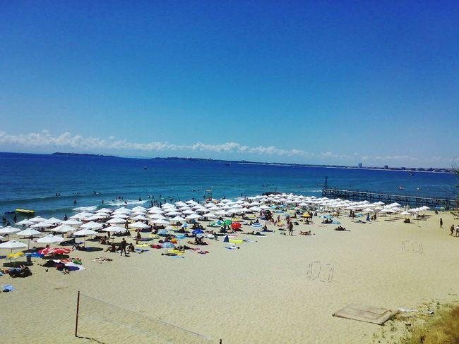 2008 Bulgaria Summer Sveti Vlas Beatch Sea